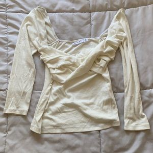 The Line by K Stevie Top in Ivory